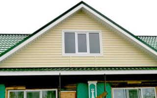 Обшивка сайдингом фронтона крыши: как обшить, закрыть, подшить