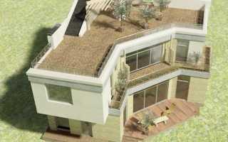Проекты домов с плоской крышей: особенности современных частных одноэтажных коттеджей с данным типом кровли