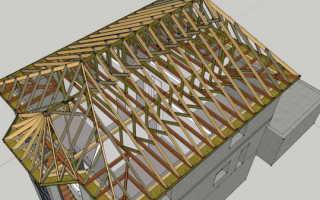 Монтаж стропильной системы четырехскатной вальмовой крыши своими руками — расчет и конструкция (фото, видео)