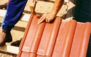 Монтаж металлочерепицы своими руками: покраска, руководство, как прикручивать, порядок