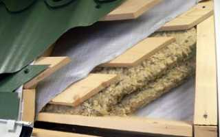 Подложка под металлочерепицу: пленка, рубероид, другой материал для пирога — что кладут обычно и что класть правильней