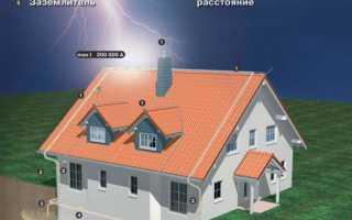 Заземление крыши из металлочерепицы своими руками — пошаговое видео и фото