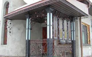 Крыша над крыльцом: навес своими руками, козырек частного дома, угол наклона навесного козырька над входом, из чего делают