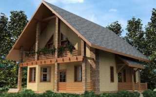Двухскатная крыша: ассиметричные и другие варианты конструкций, инструкция, видео и фото