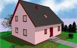 Двухскатная мансардная крыша: технология строительства, угол наклона
