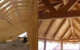 Стропильная балка: фермы деревянные, металлические, железобетонные, усиление стропил
