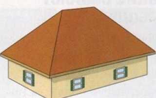 Четырехскатная вальмовая крыша дома: проекты с мансардной кровлей