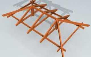 Устройство стропил: стропильный брус, стропиловка