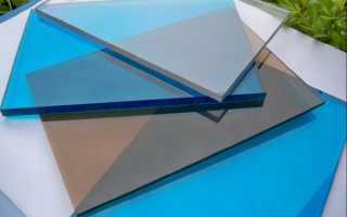 Как выбрать монолитный поликарбонат — технические характеристики и свойства (фото, видео)