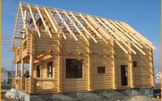 Двускатная крыша: стропильная система, схема, угол наклона, сопряжение ломаной и прямой