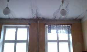 Протекает крыша: куда обращаться, что делать, если протекла крыша, акт о протечке