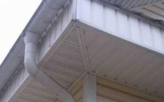 Подшивка кровли: устройство подшива холодной крыши, структура и технология