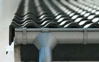 Сливы для крыши пластиковые: монтаж и установка сливной системы своими руками
