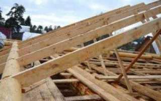 Узлы стропильной системы из бруса и конструкций: схемы, настил, строительство, сборка и опирание стропил из бревен