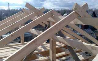 Стропила для крыши своими руками: монтаж, крепление и устройство стропильной системы