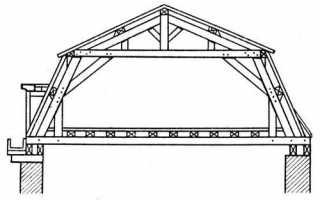 Мансардная крыша ломаная своими руками: устройство и чертеж
