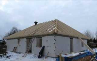 Четырехскатная крыша: стропильная система, инструкция как сделать своими руками, видео и фото