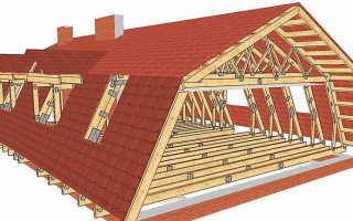 Как сделать ломаную крышу своими руками – устройство и строительство (фото, видео)