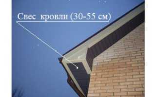 Как сделать подбой крыши своими руками – видео монтажа (фото)