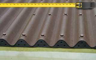 Размер листа ондулина: полезная площадь и другие технические характеристики, видео и фото