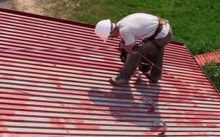 Чем покрасить железную крышу дома: краска для кровли из железа, металлическую крышу, из черного металла, кровельная краска для железной крыши, чем покрыть