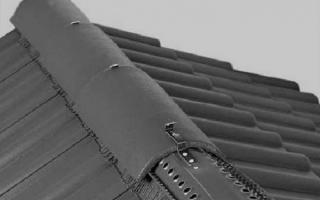 Вентилируемый конек кровли — устройство и монтаж (фото, видео)