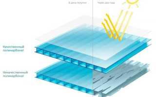 Прозрачный поликарбонат для крыши — размеры и технические характеристики (фото, видео)