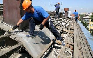 Ремонт кровли дома своими руками, как залезть на крышу, отремонтировать, восстановление