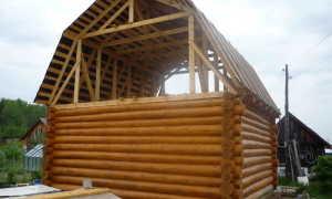 Двухскатная ломаная крыша своими руками — устройство и монтаж (фото, видео, чертежи)