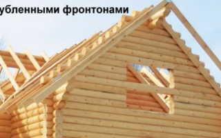 Устройство деревянных рубленных фронтонов — схема и конструкция (фото, видео)