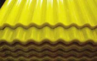 Пластиковый шифер ПВХ: полимерный материал из пластика