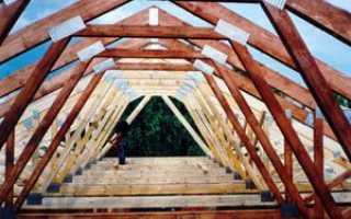 Стропильная система мансардной крыши своими руками: монтаж каркаса, схема узлов, видео