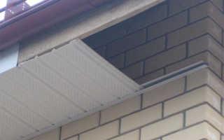 Подшивка крыши сайдингом, как подобрать отделку карниза под цвет кровли, видео и фотографии