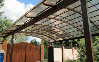 Кровля из поликарбоната своими руками: поликорбанатовый лист на крышу дома, как сделать, толщина монолитного материала, прочность
