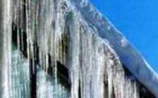 Крыша без сосулек: защита кровли