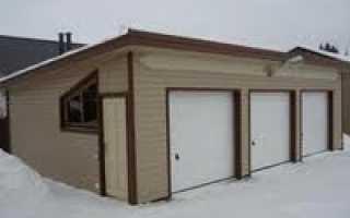 Односкатная крыша гаража: как сделать расчет угла наклона, так же строительство беседки
