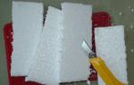 Резка пенопласта: чем обрабатывать материал, нихромовая проволока и другие средства, видео и фото