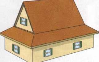 Полувальмовая крыша двускатная: устройство, как сделать?