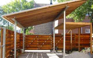 Односкатный навес своими руками: как правильно сделать крышу с козырьком, из металла, поликарбоната, деревянный, строительство, конструкция, чертеж