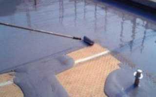 Наливная кровля: устройство покрытия