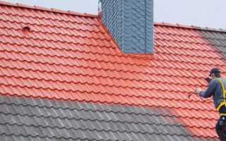 Какую выбрать краску для крыши дома – виды для разных крыш (фото, видео)