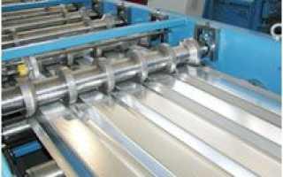 Производство профнастила: оборудование, изготовление арочного материала своими руками, технология