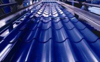 Производство металлочерепицы: технология, линия изготовления, оборудование