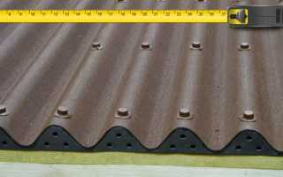 Ондулин: полезный размер листа с учетом нахлеста, рабочая ширина, стандартная площадь