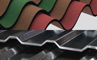 Ондулин или профнастил: преимущества и недостатки, минусы металлопрофиля на крыше, горючесть материалов