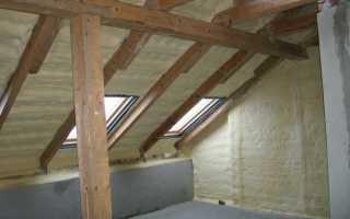 Утепление крыши мансарды домов: вентиляция, как и чем правильно утеплить