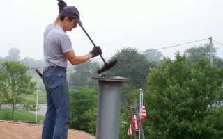 Как прочистить дымоход своими руками — средства и пошаговая инструкция (фото, видео)