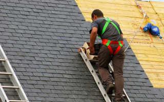 Техника безопасности при кровельных работах: проведение работ на крыше, устройство и ремонт кровли, требования
