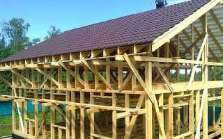 Крыша каркасного дома: стропильная система, каркас двухскатной кровли, устройство мауэрлата, стропил своими руками, крепление, монтаж