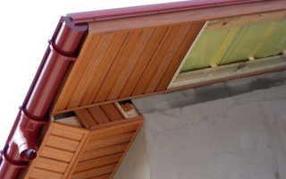 Установка софитов для подшивки крыши — монтаж и отделка (фото, видео)